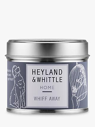 Heyland & Whittle Solutions Whiff Away Scented Candle, Grey