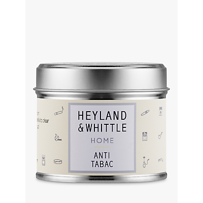 Heyland & Whittle Solutions Anti-Tabac Candle, Beige