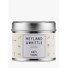 Buy Heyland & Whittle Solutions Anti-Tabac Candle, Beige Online at johnlewis.com