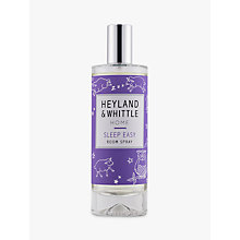 Buy Heyland & Whittle Solutions Sleep Easy Room Spray, 100ml, Lilac Online at johnlewis.com