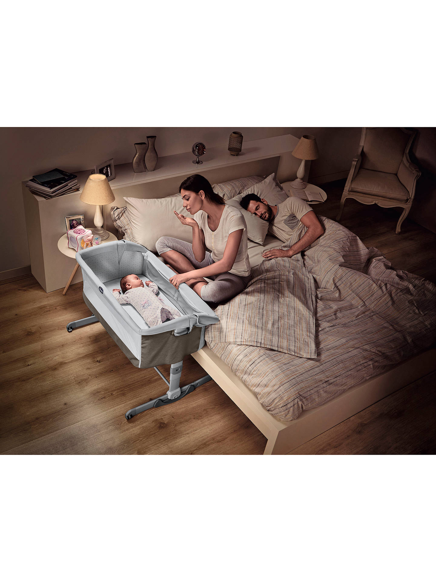 Buy Chicco Next To Me Dream Crib, Legend Online at johnlewis.com