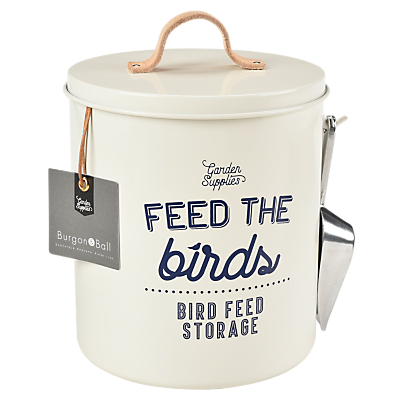 Burgon & Ball Enamel Bird Feed Tin