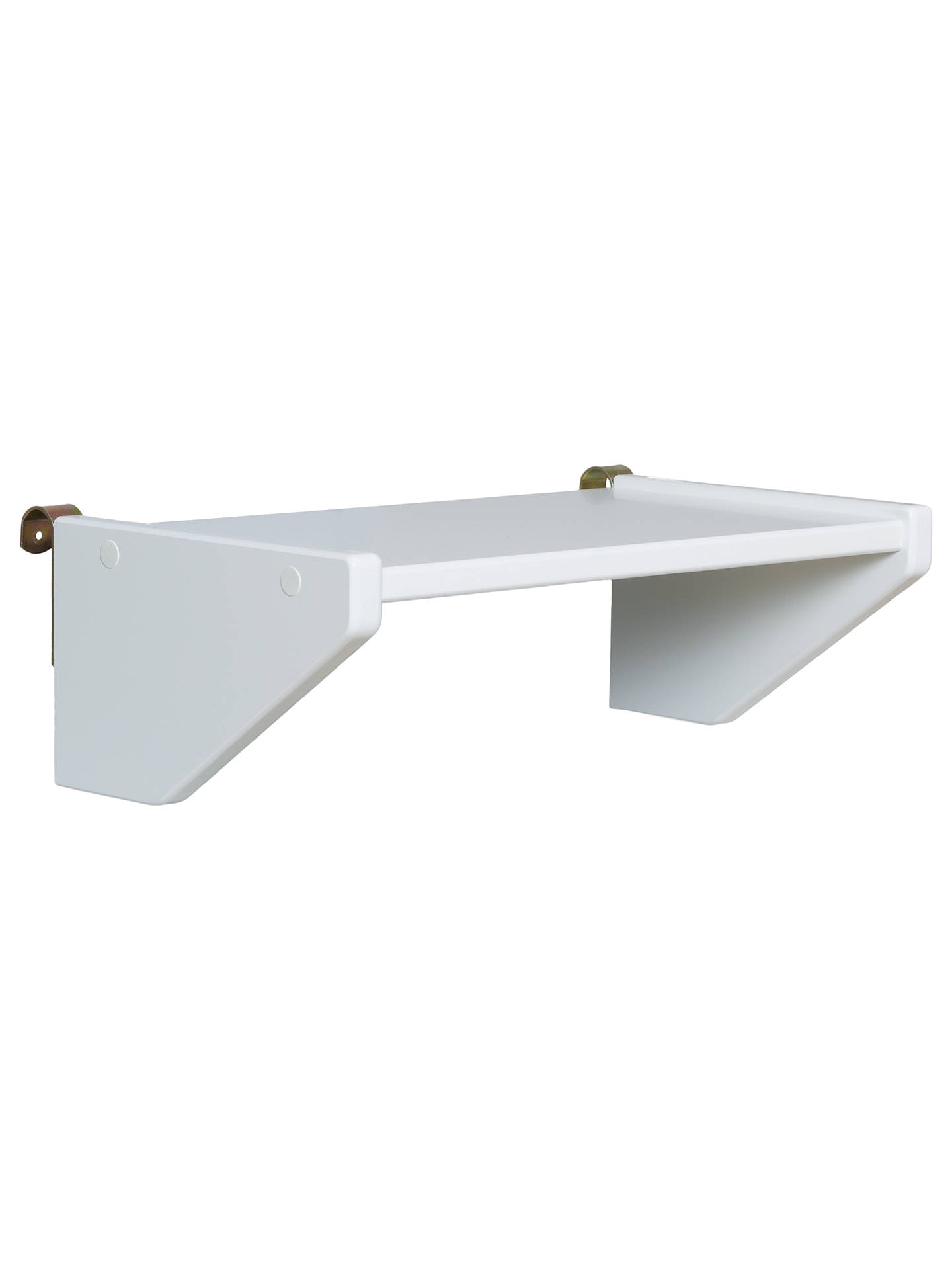 Buy Stompa Uno S Plus Small Clip-On Shelf, White Online at johnlewis.com