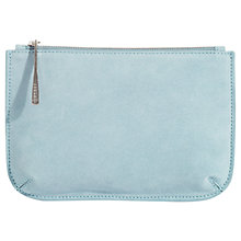 Buy Jigsaw Alba Medium Textured Leather Pouch Online at johnlewis.com