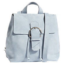 Buy Jigsaw Bree Buckle Leather Backpack Online at johnlewis.com