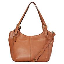 Buy White Stuff Bailey Leather Hobo Bag, Tan Online at johnlewis.com