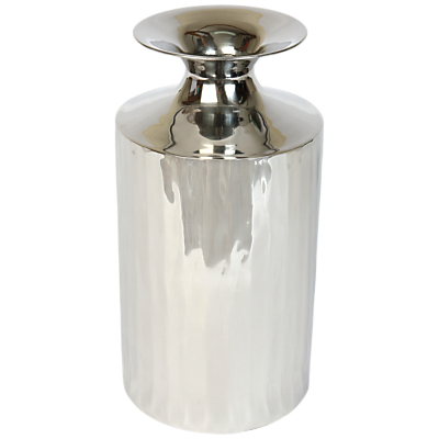 Culinary Concepts Empire Vase, Silver, Small