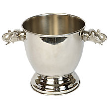 Buy Culinary Concepts Elephant Wine Cooler, Silver, Medium Online at johnlewis.com