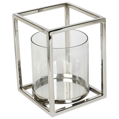 Culinary Concepts Geometric Hurricane Candle Holder, Large