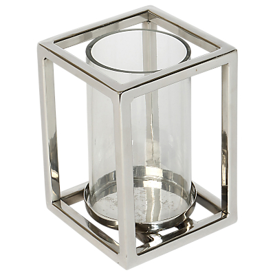 Culinary Concepts Geometric Hurricane Candle Holder, Small