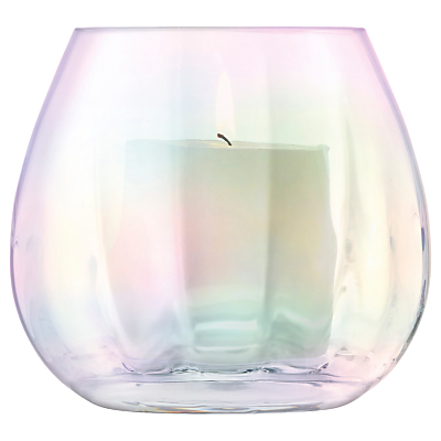 LSA International Pearl Optic Lantern/Vase, H13cm