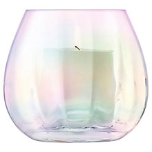 Buy LSA International Pearl Optic Lantern/Vase, H13cm Online at johnlewis.com