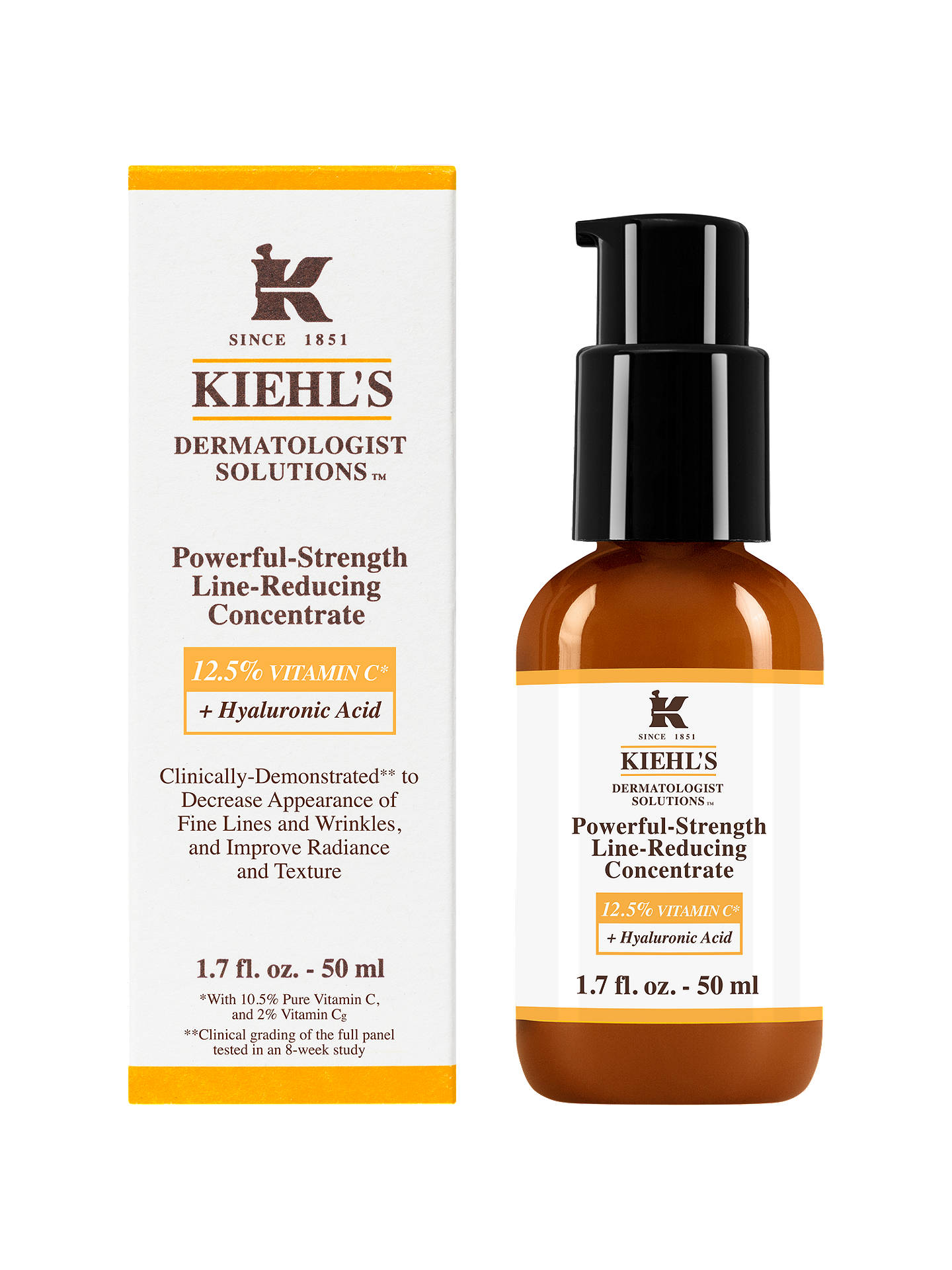 KIEHL'S Powerful Strength Line Reducing Concentrate Vit C + Hyaluronic Acid