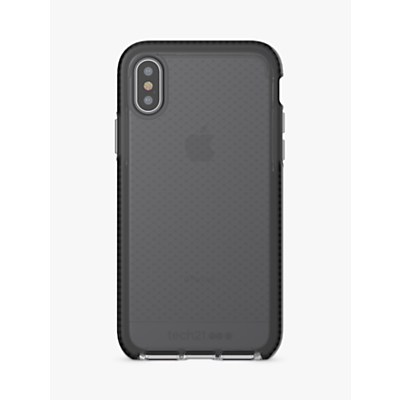 Image of tech21 Evo Glass Screen Protector for iPhone X, Black