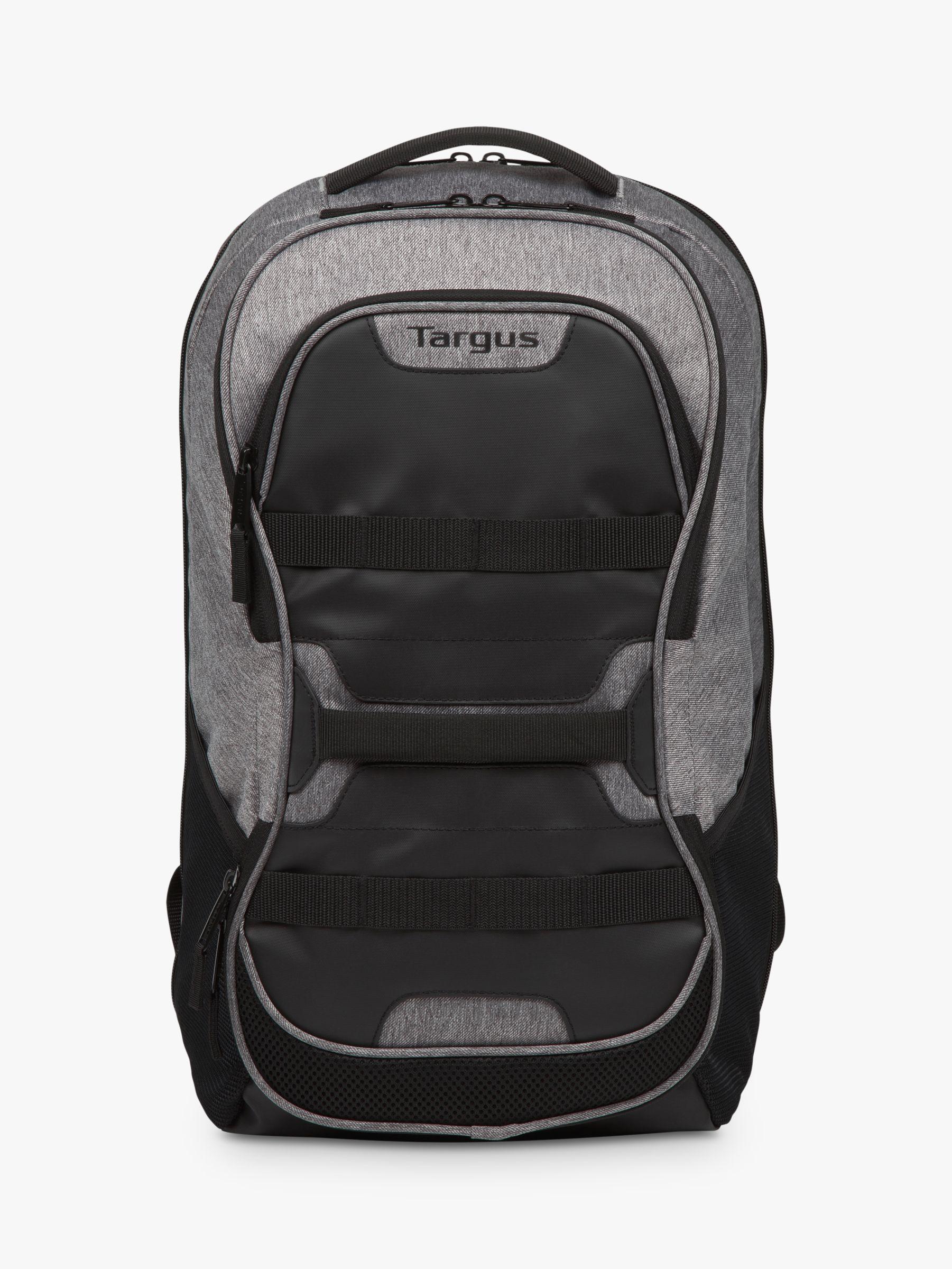 "Targus Targus Work + Play Fitness Backpack for Laptops up to 15.6"", Black/Grey"