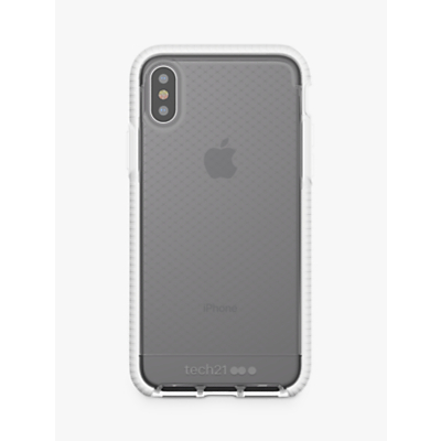 Image of tech21 Evo Check Case for iPhone X, White