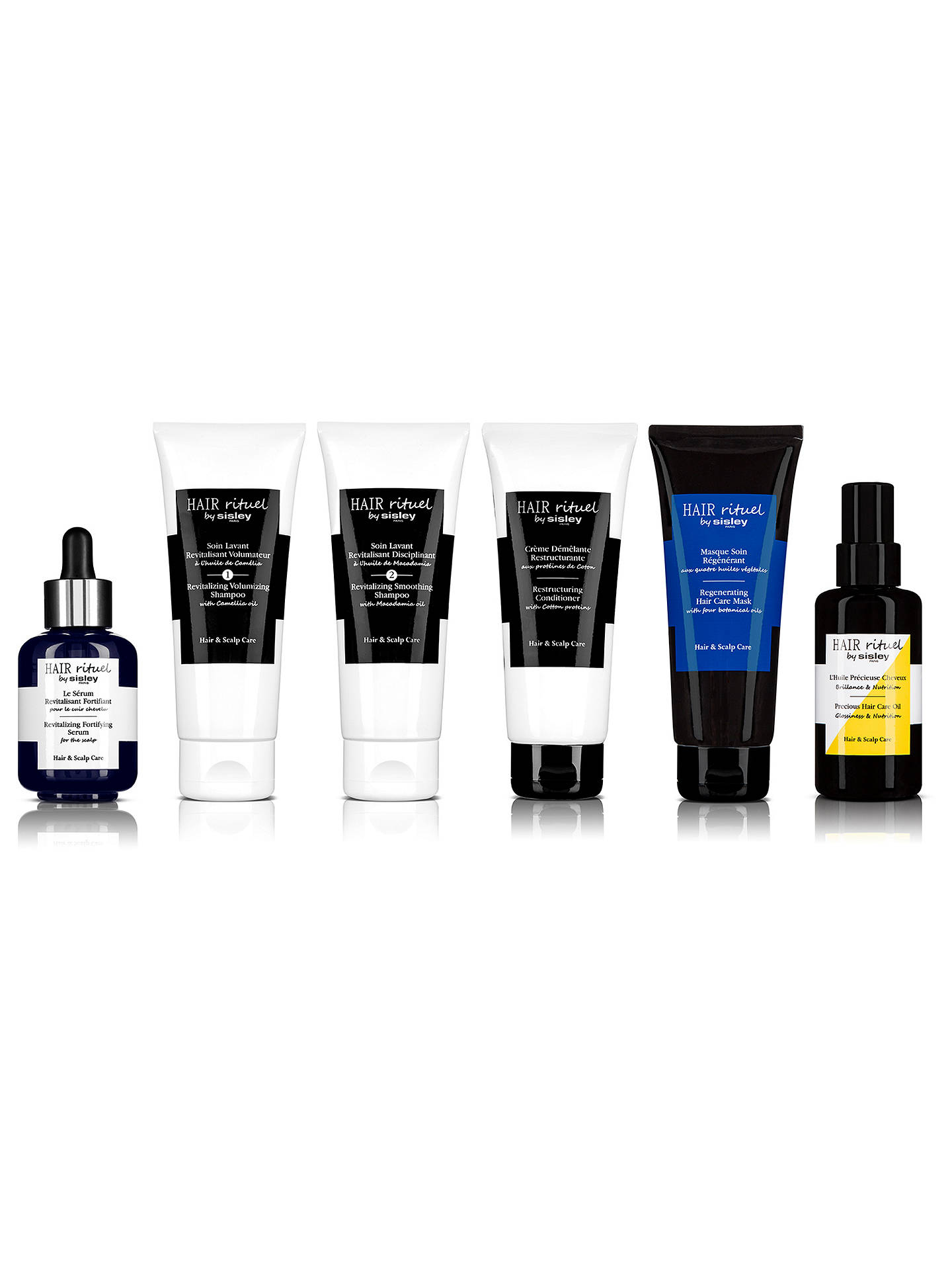 Buy Sisley Hair Rituel Regenerating Hair Mask with Four Botanical Oils, 200ml Online at johnlewis.com