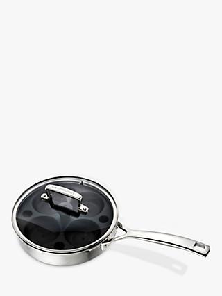 Le Creuset 3-Ply Stainless Steel Sauté / Poaching Pan, 20cm