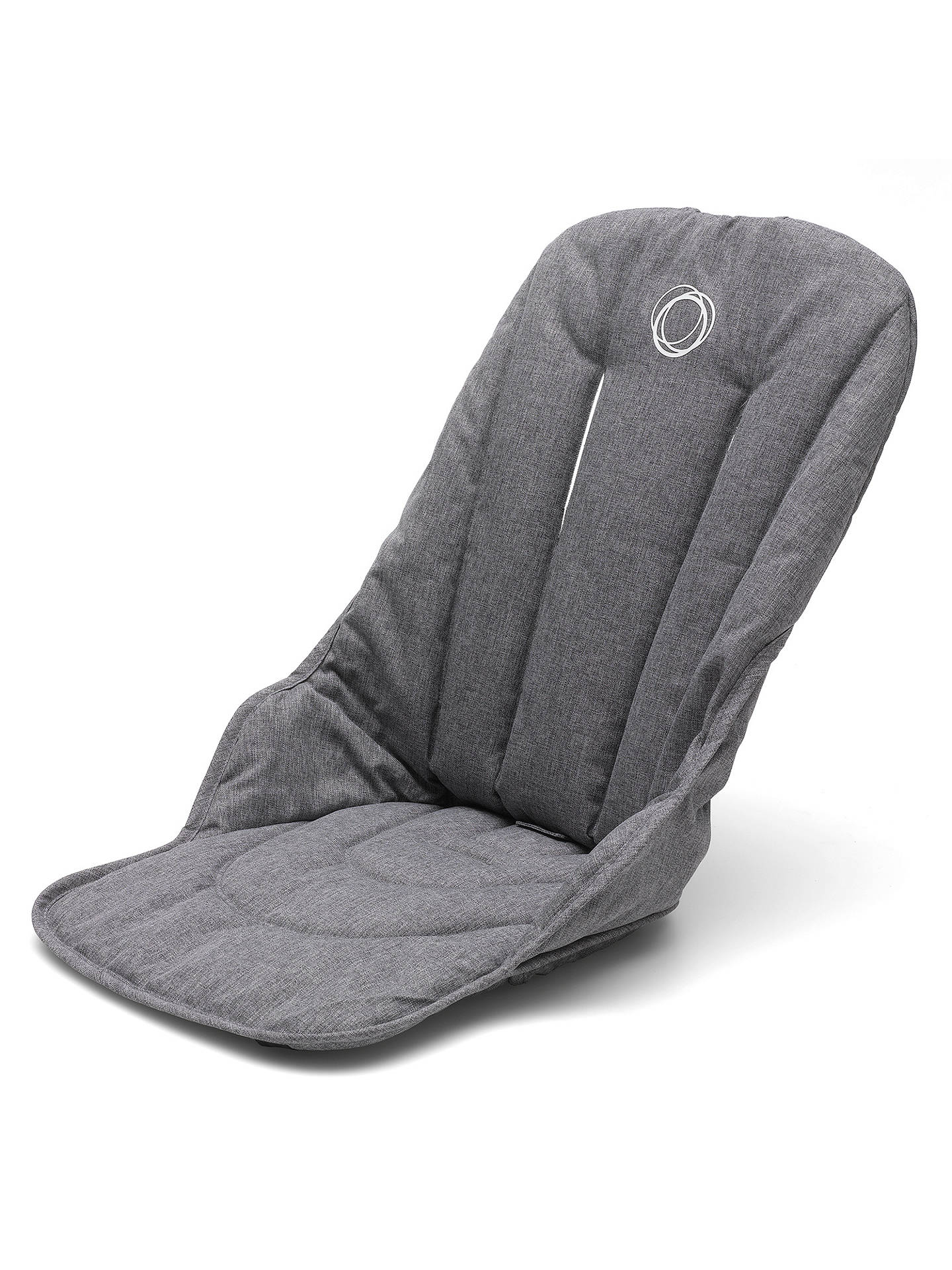 BuyBugaboo Fox Complete Pushchair and Carrycot, Aluminium with Grey Melange Fabric and Sun Canopy Online at johnlewis.com