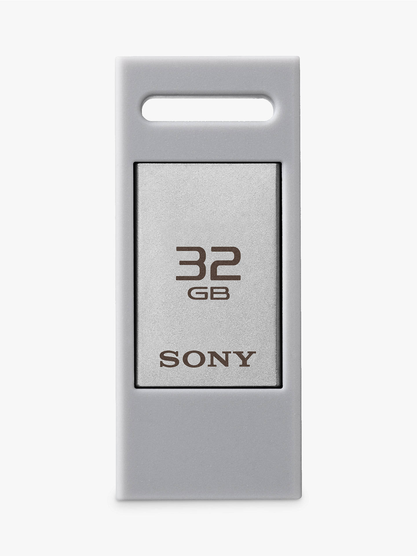 BuySony Portable USB Flash Storage Drive, White, 32GB Online at johnlewis.com
