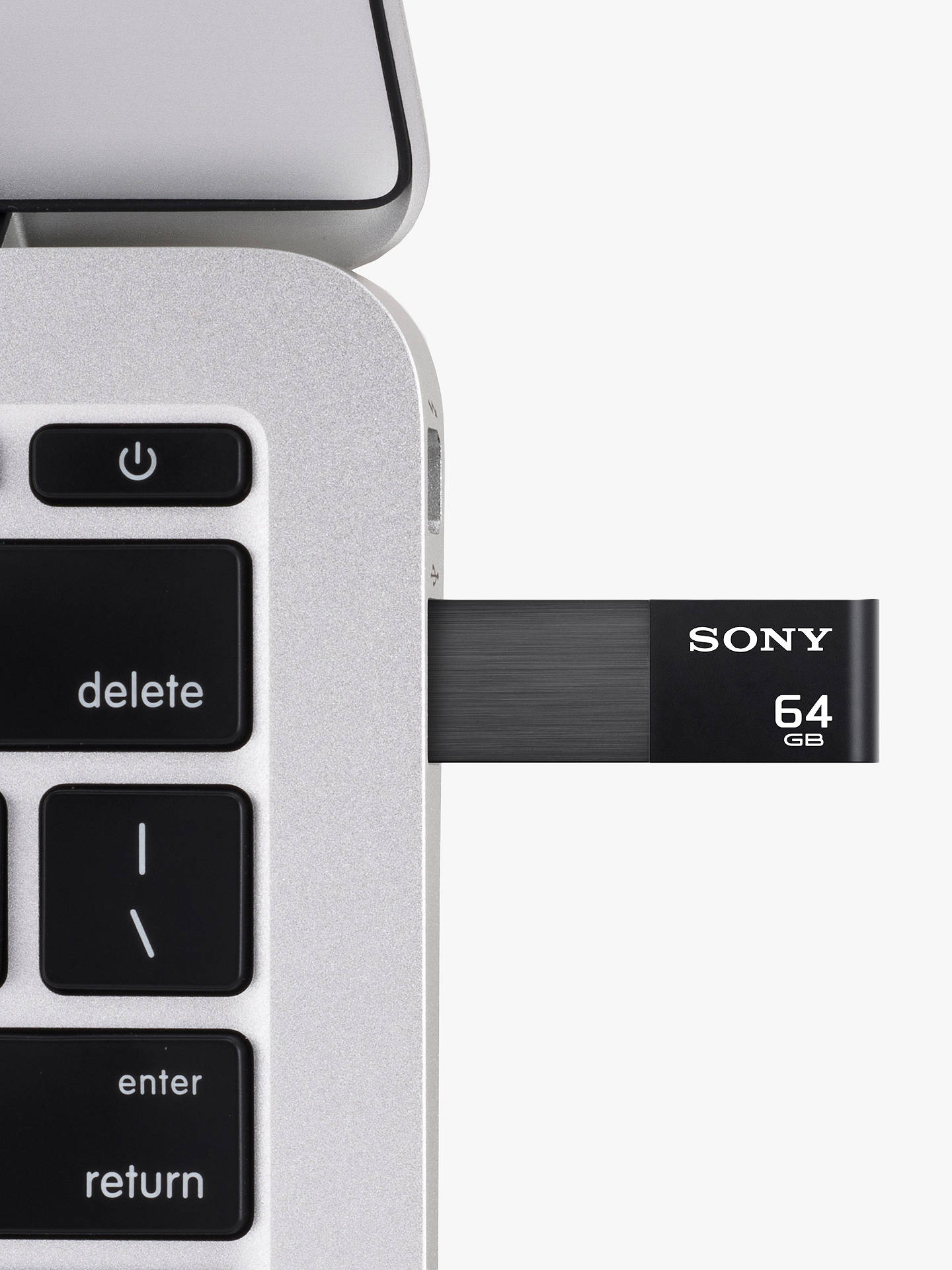 BuySony Portable USB 3.1 Flash Storage Drive, Black, 64GB Online at johnlewis.com