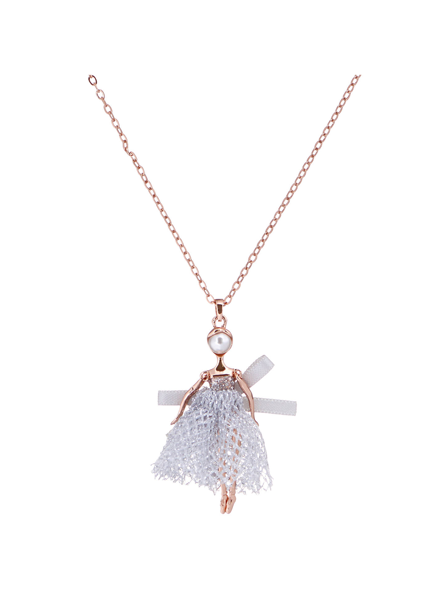 Ted baker carabel mini ballerina pendant at john lewis partners buyted baker carabel mini ballerina pendant rose goldgrey online at johnlewis aloadofball Images