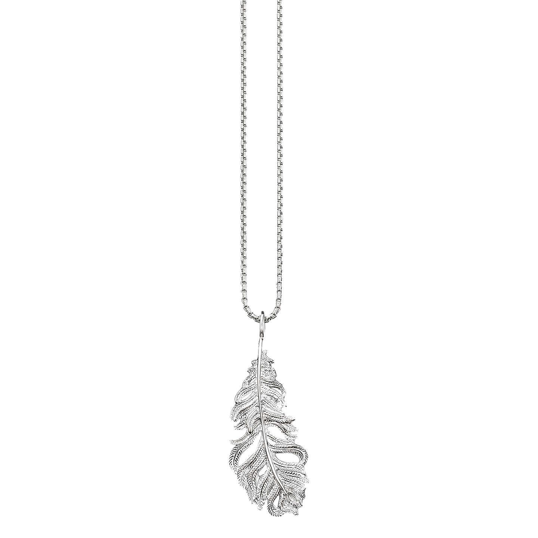 Thomas sabo glam soul feather pendant necklace silver at john lewis buythomas sabo glam soul feather pendant necklace silver online at johnlewis aloadofball Images