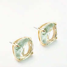 Buy kate spade new york Square Stud Earrings, Ice Blue Online at johnlewis.com