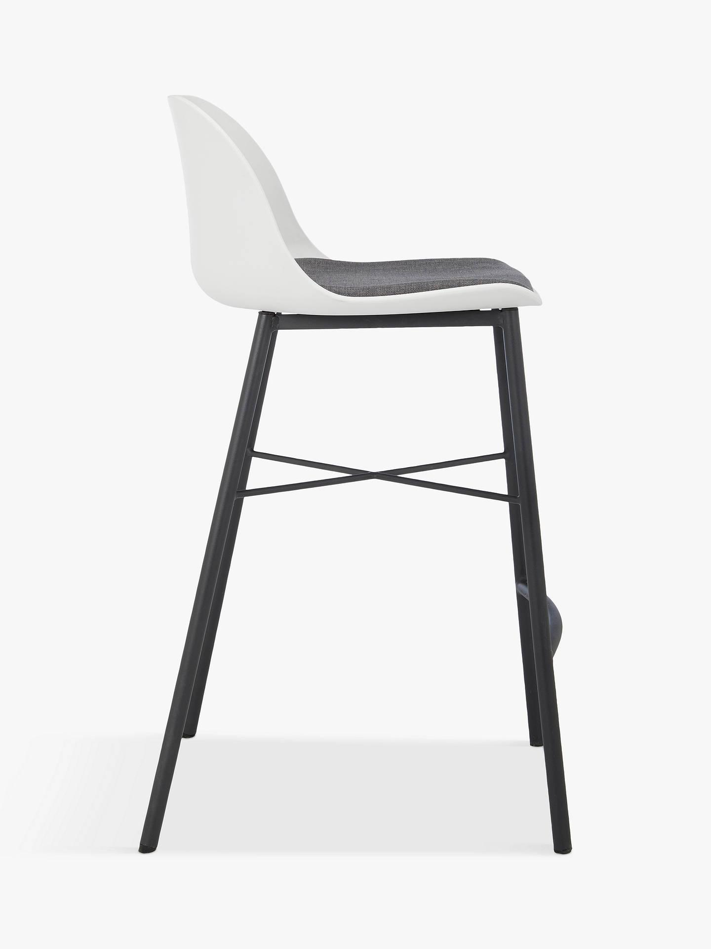 Amazing House By John Lewis Whistler Bar Stool White Machost Co Dining Chair Design Ideas Machostcouk