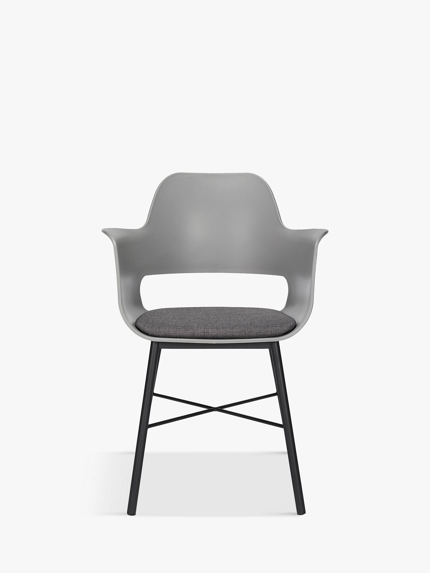 BuyHouse by John Lewis Whistler Dining Armchair, Grey Online at johnlewis.com