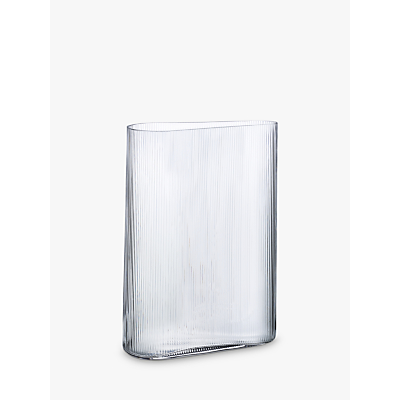 Nude Glass Mist Vase, Wide