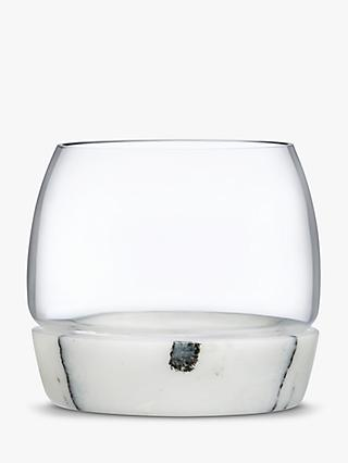 Nude Glass Chill Marble & Glass Whisky Tumbler Glass