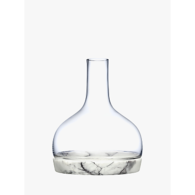 Nude Glass Chill Glass & Marble Carafe