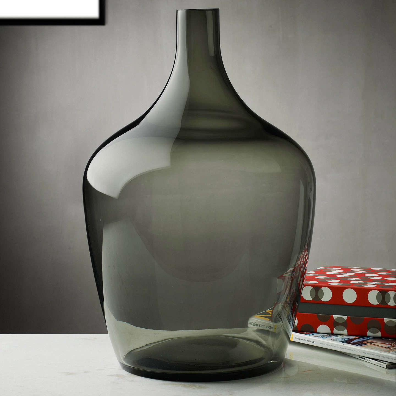 Fabulous Nude Glass Dame Jeanne Demijohn Glass Vase, Extra Large, Smoke at  RI06