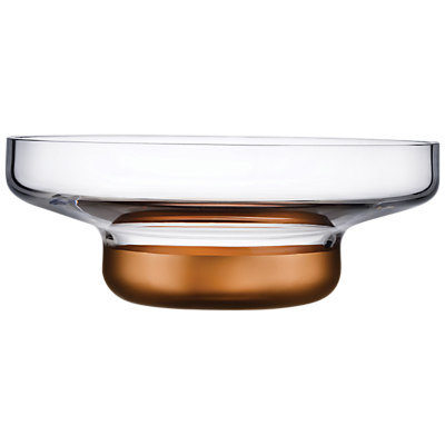 Image of Nude Glass Contour Crystal Bowl, Large