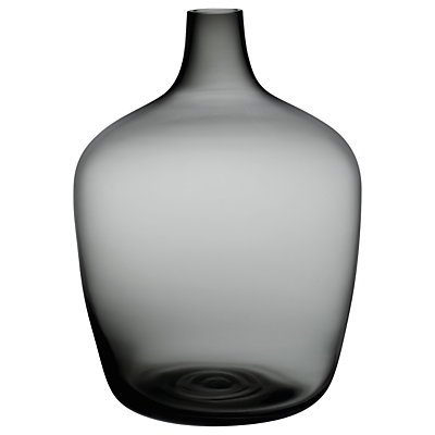 Nude Glass Dame Jeanne Demijohn Glass Vase, Large, Smoke