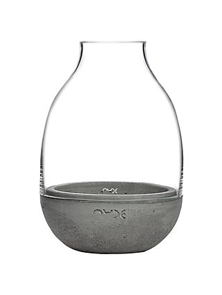 Nude Glass Eden Mini Terrarium, Clear