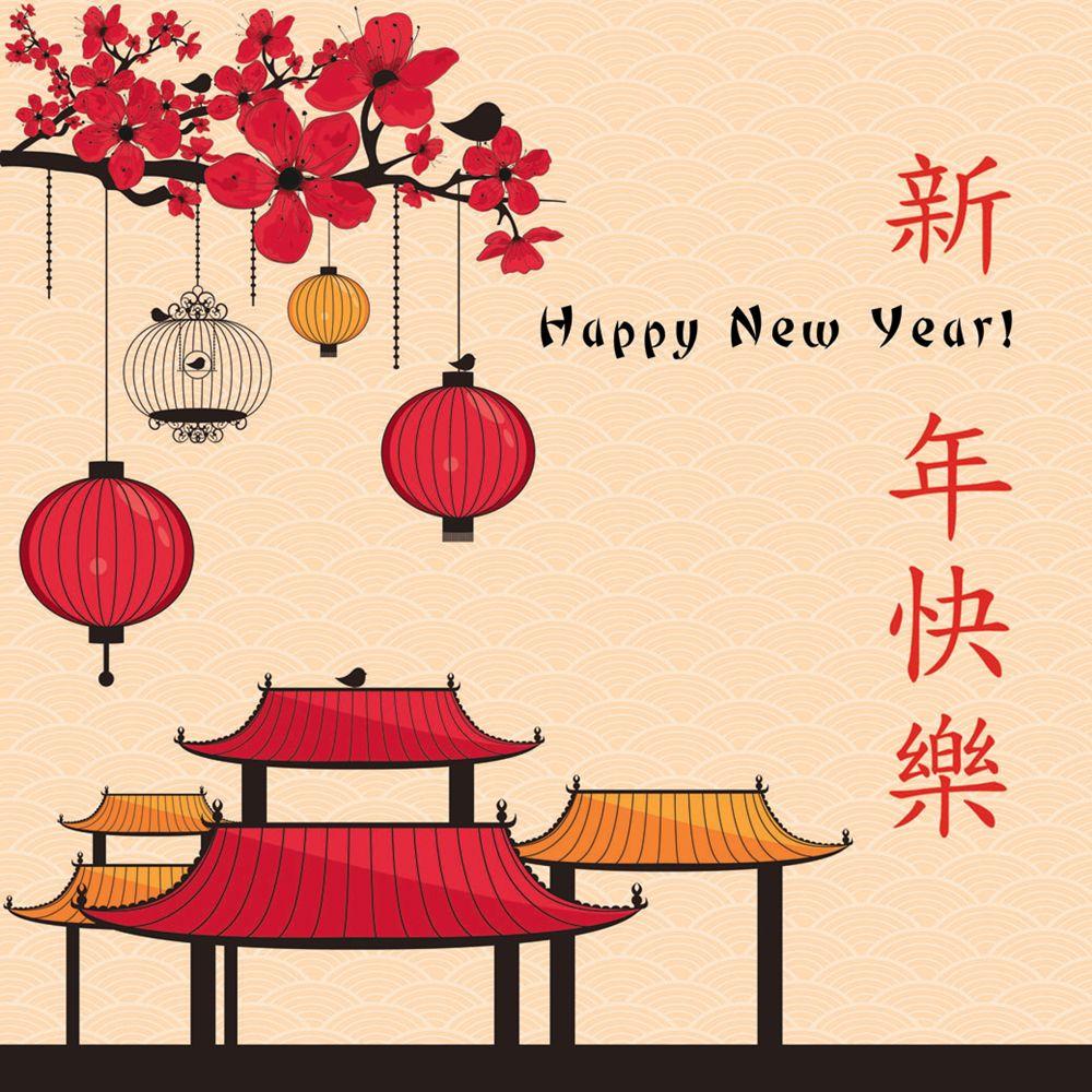 Davora Lanterns Chinese New Year Card At John Lewis Partners