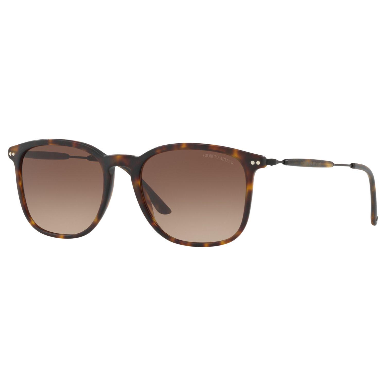 Giorgio Armani Giorgio Armani AR8098 Men's Polarised Square Sunglasses