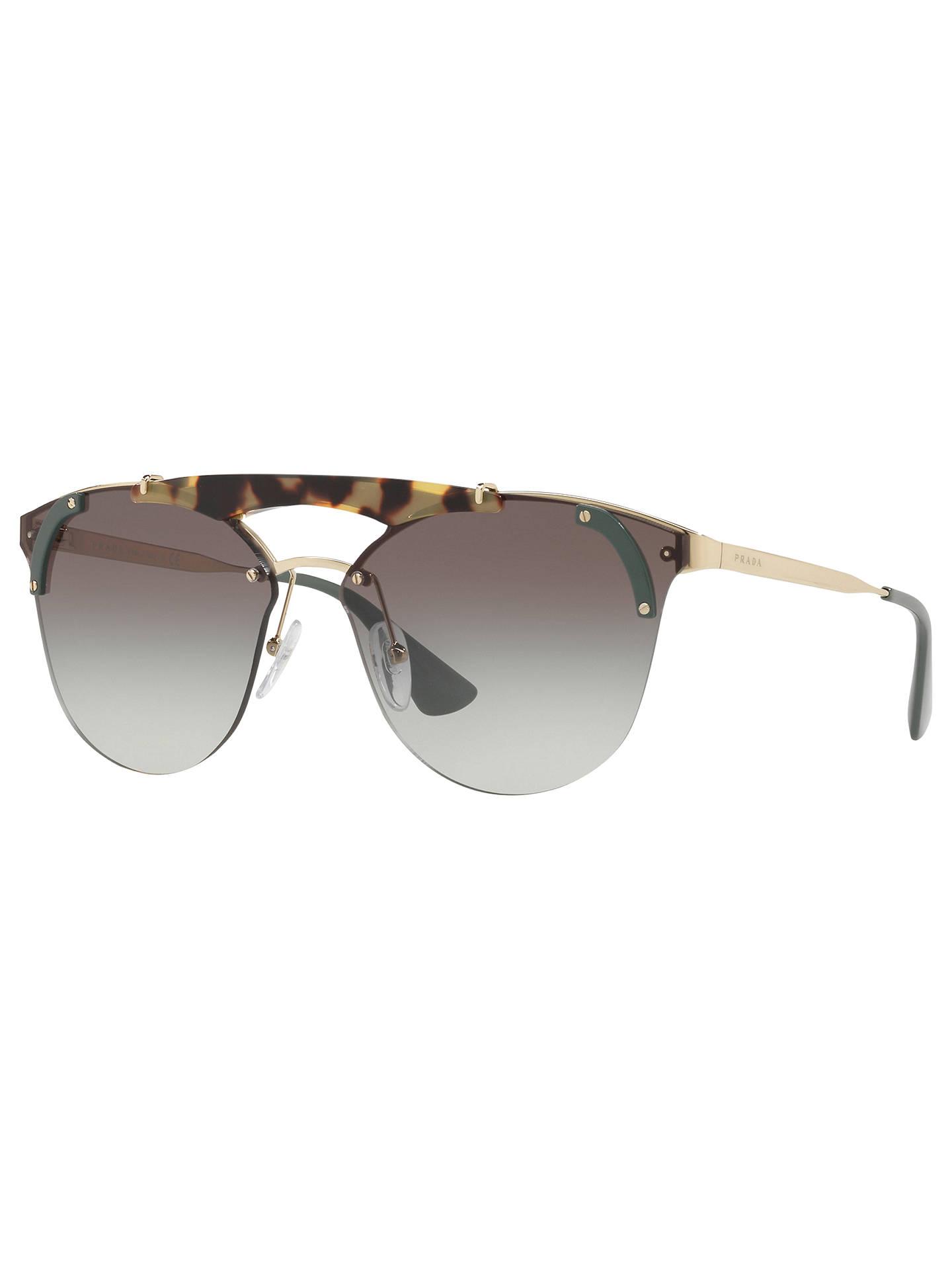 db9df35f3cc Prada PR 53US Round Sunglasses at John Lewis   Partners