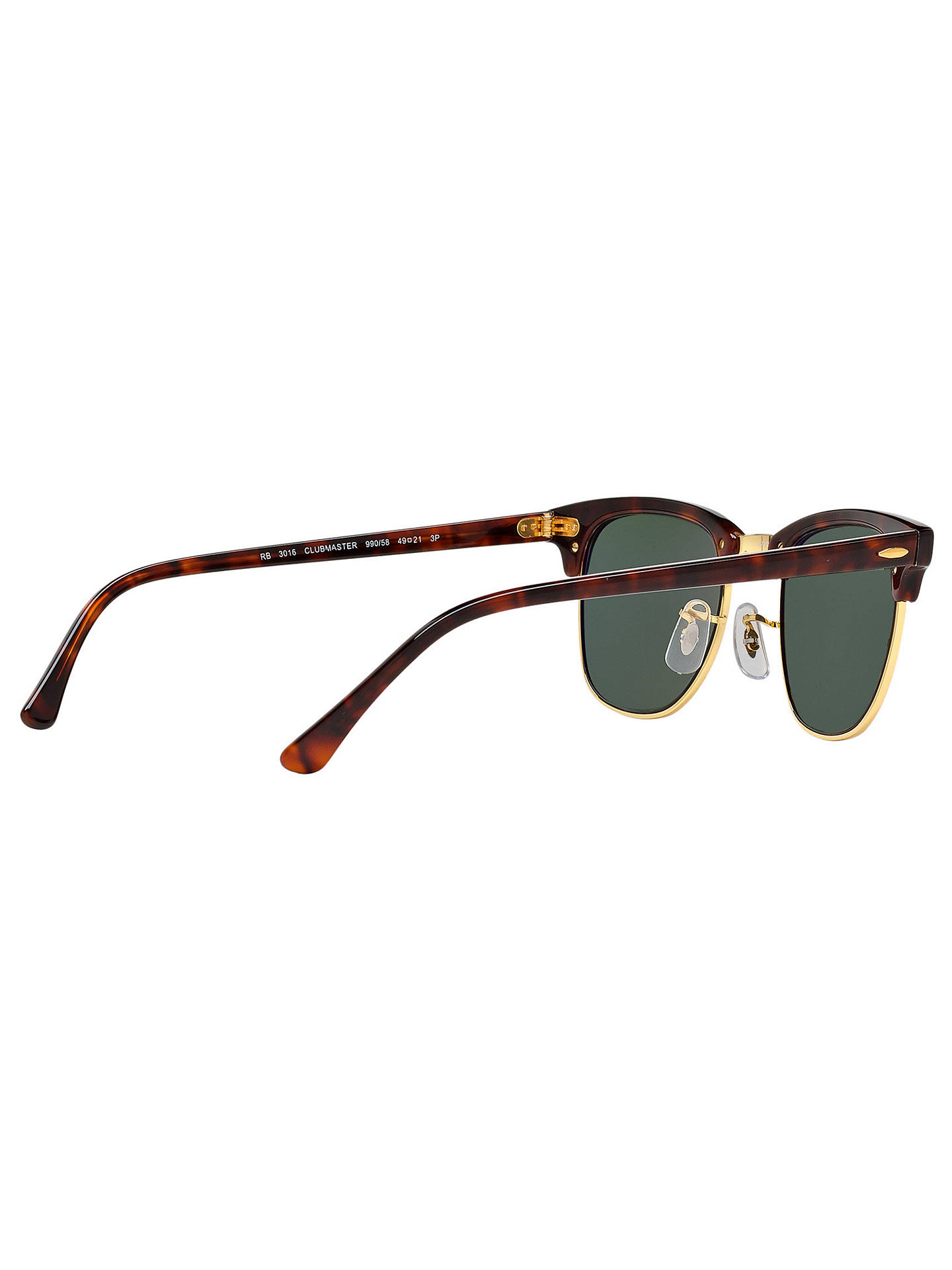 82e392245a ... Buy Ray-Ban RB3016 Men s Polarised Clubmaster Sunglasses