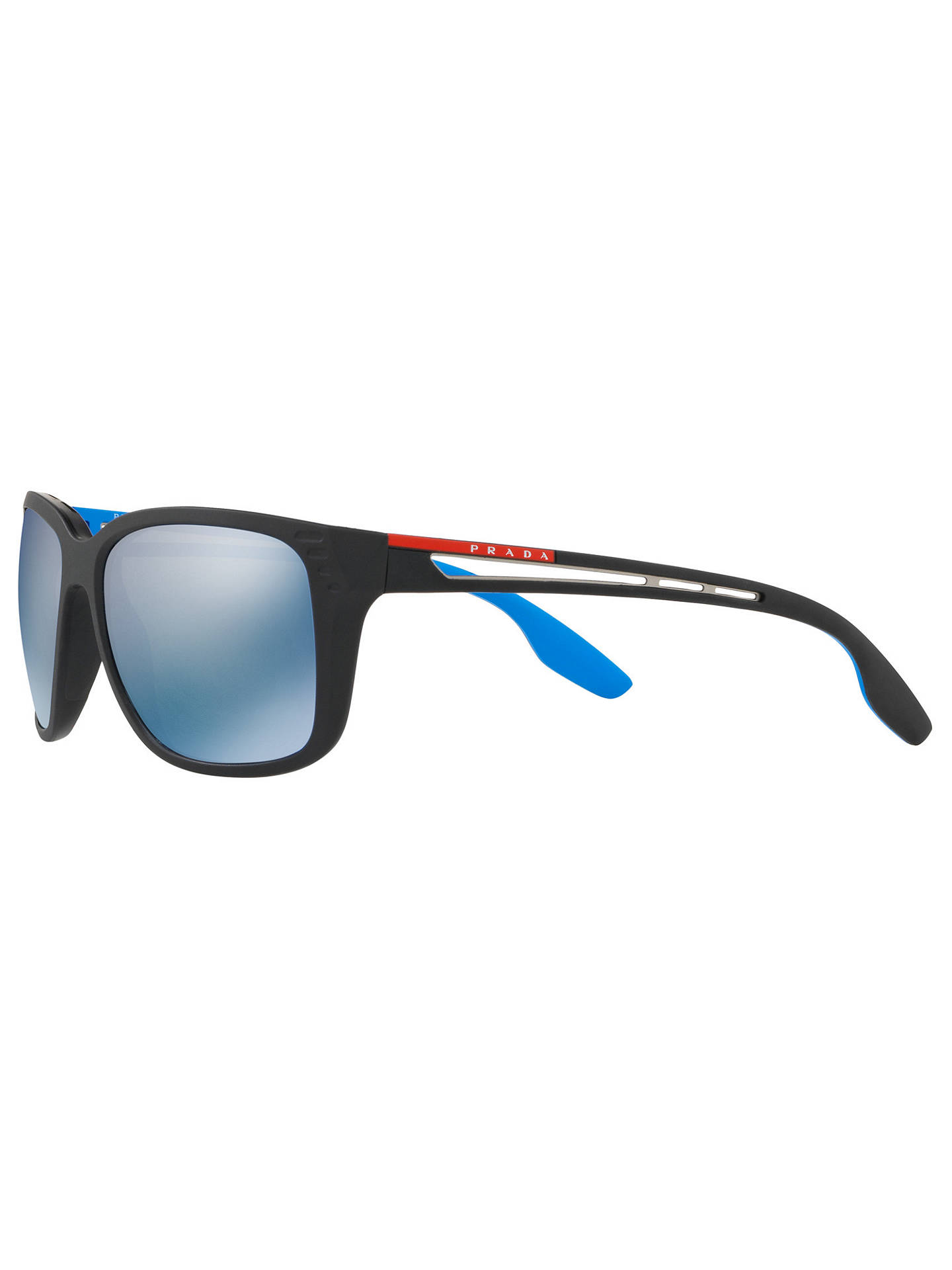 f32fab7dcf5c ... Buy Prada Linea Rossa PS 03TS Men s Polarised Rectangular Sunglasses