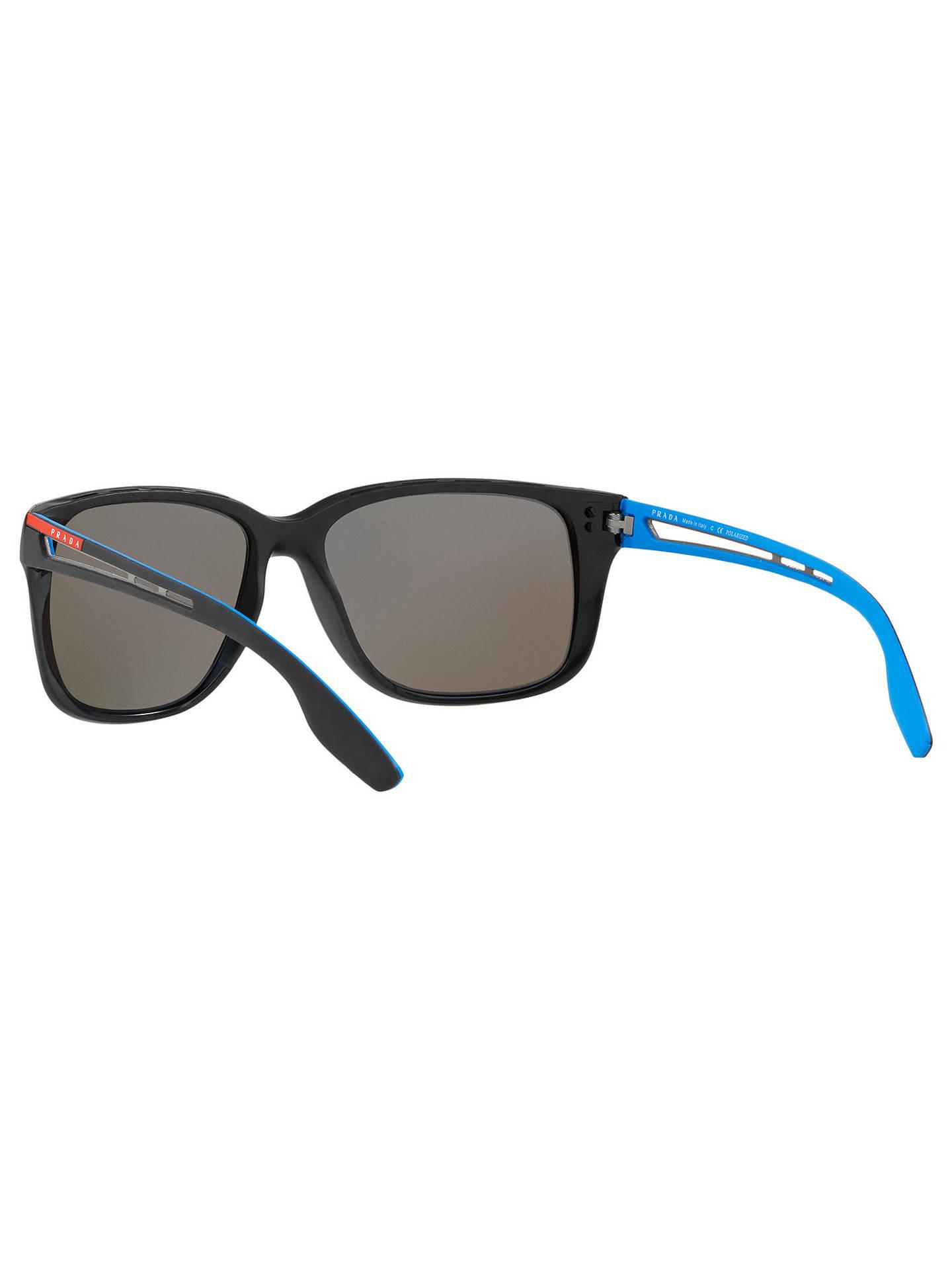 562f993e52 ... Buy Prada Linea Rossa PS 03TS Men s Polarised Rectangular Sunglasses