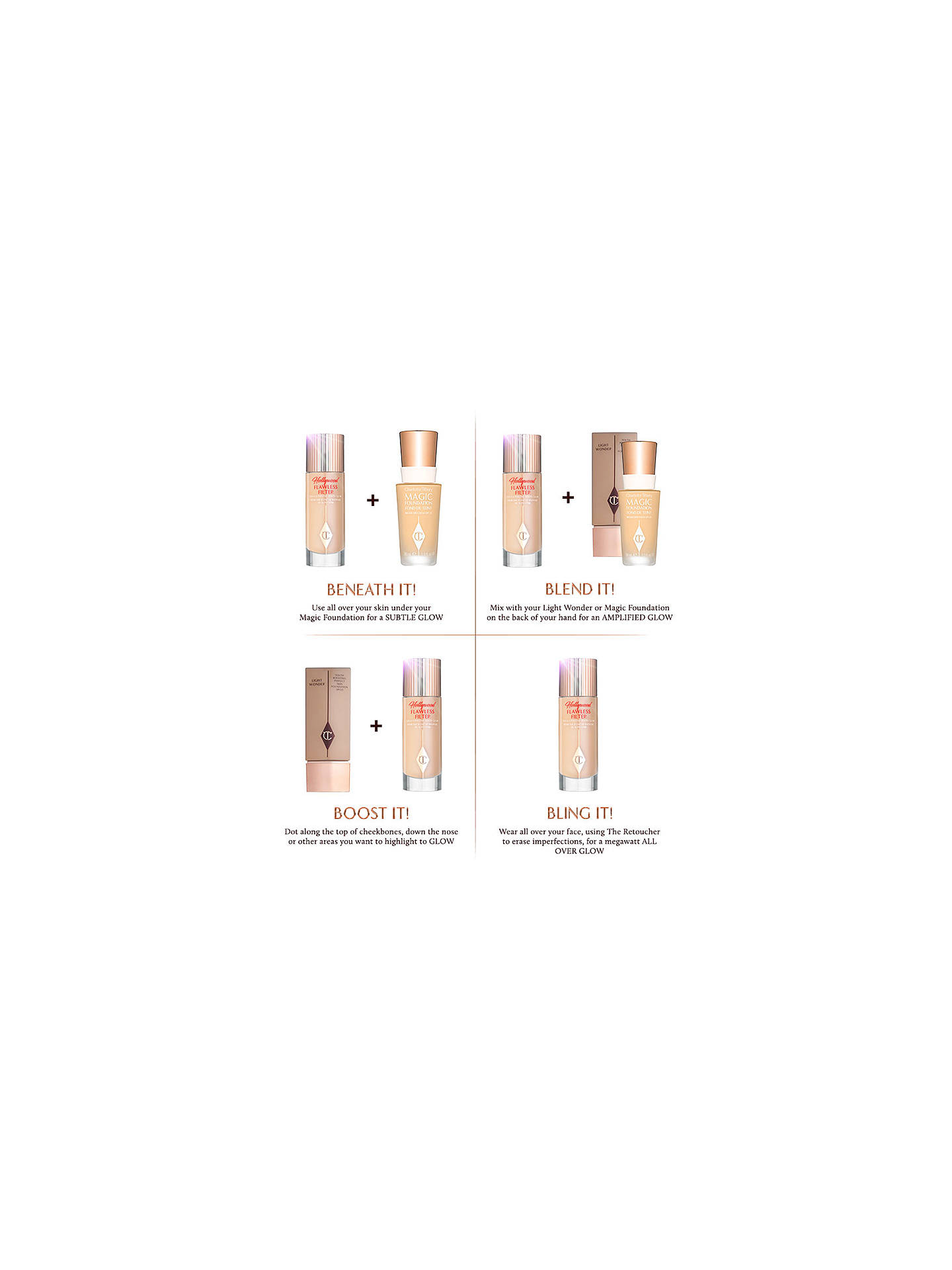 BuyCharlotte Tilbury Hollywood Flawless Filter, 1 Fair Online at johnlewis.com