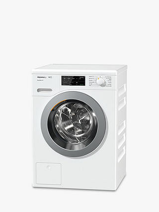 Buy Miele WCE320 Quick PowerWash Freestanding Washing Machine, 8kg Load, A+++ Energy Rating, 1400rpm Spin, White Online at johnlewis.com