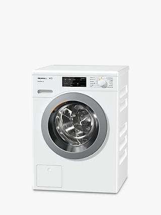Miele WCE320 Quick PowerWash Freestanding Washing Machine, 8kg Load, A+++ Energy Rating, 1400rpm Spin, White
