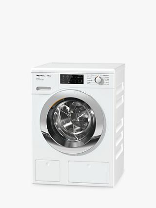Miele WCI660 TwinDos XL Freestanding Washing Machine, 9kg Load, A+++ Energy Rating, 1600rpm Spin, White
