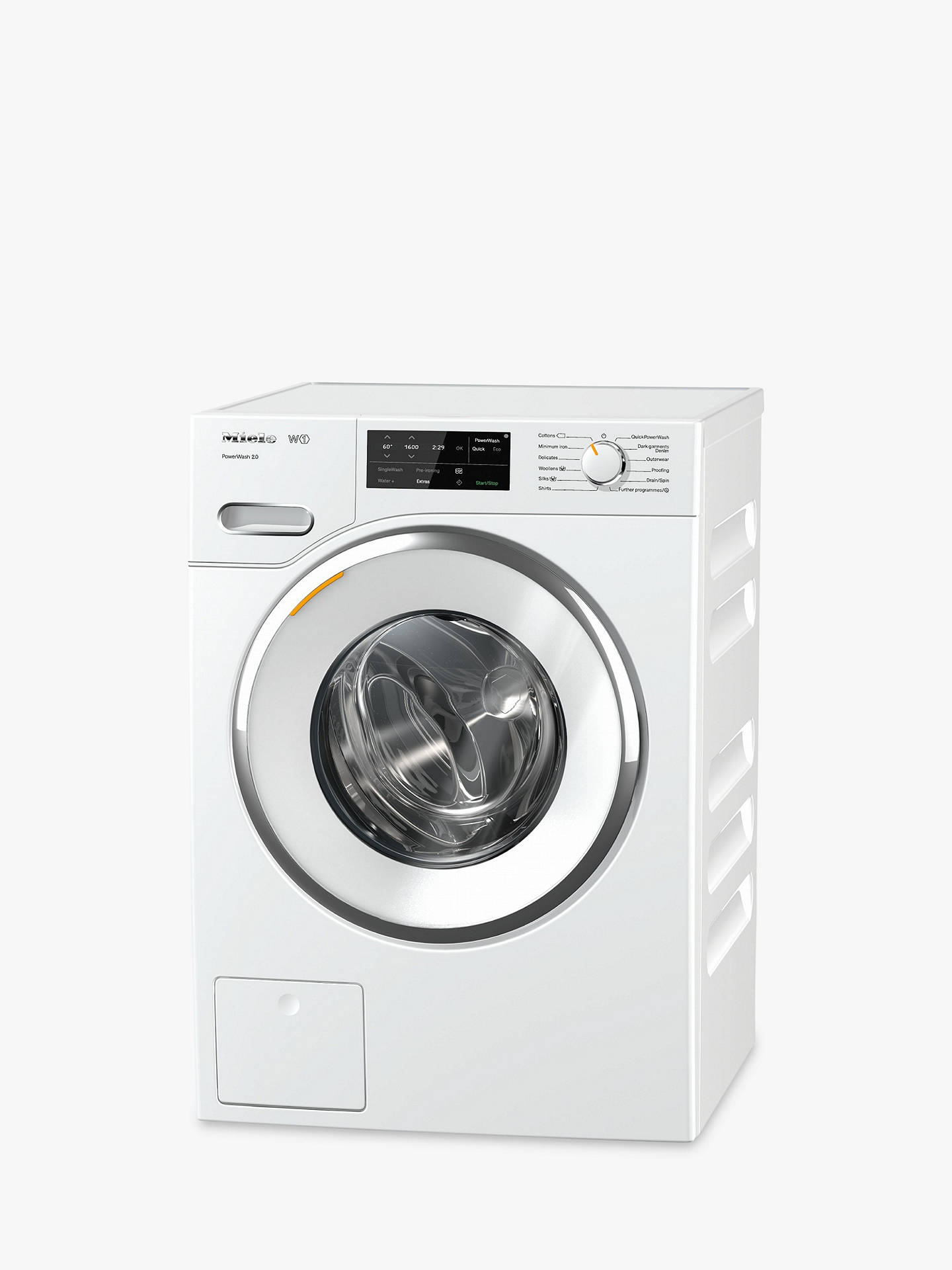 Miele Wwe760 Twindos Freestanding Washing Machine 8kg Load A