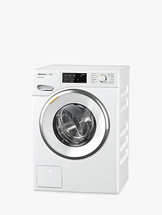Miele WWE760 TwinDos Freestanding Washing Machine, 8kg Load, A+++ Energy Rating, 1400rpm Spin, White