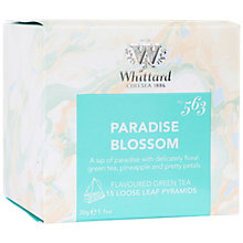 Buy Whittard Paradise Blossom Tea Bags, 30g Online at johnlewis.com